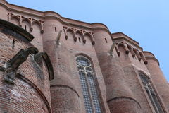Albi Cathedral Royalty Free Stock Photo