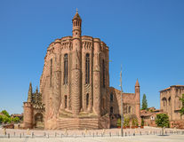 Albi cathedral in Midi-Pyrenees Royalty Free Stock Photography