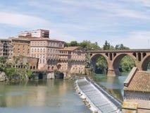 Albi, città mythical della Francia. Fotografie Stock