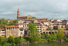 Albi cityscape Royalty Free Stock Images