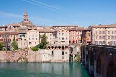 Albi cityscape Royalty-vrije Stock Foto