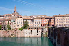 Albi cityscape Royalty Free Stock Photo