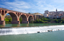 Albi cityscape Stock Photo