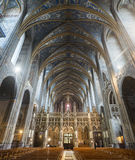 Albi (France), cathedral  interior Royalty Free Stock Image