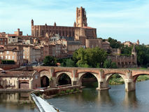 Albi (France) Midi-Pyrénées, Tarn Dep. Royalty Free Stock Photography