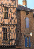 Albi (France). Albi (Tarn, Midi-Pyrenees, France) - Old typical buildings Stock Images