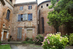 Albi (France). Albi (Tarn, Midi-Pyrenees, France) - Old typical buildings Royalty Free Stock Images