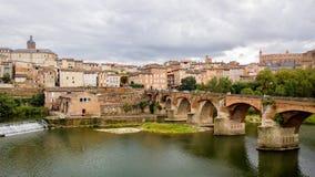 Albi in Languedoc, Frankreich lizenzfreie stockbilder