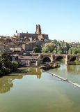 Albi medieval city in France Stock Photos