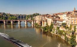 Albi medieval city in France Royalty Free Stock Photography