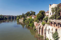 Albi medieval city in France Royalty Free Stock Image