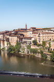 Albi medieval city in France Stock Images