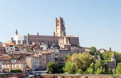Albi medieval city in France Royalty Free Stock Photo