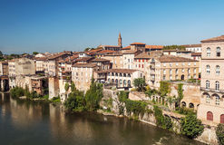 Albi medieval city in France Royalty Free Stock Photos
