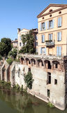 Albi medieval city in France Stock Photo