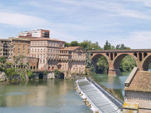 Albi, mythical town of France. Stock Photos