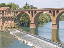 Albi,mythical town of France. Albi (France). This town was the first town to offer refuge to the Cathars stock photography