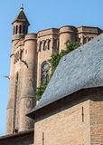 Albi, Palais de la Berbie and Cathedral Royalty Free Stock Photography