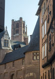 Albi, Palais de la Berbie and Cathedral Royalty Free Stock Photo