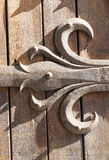 Albi, Palais de la Berbie, door. Albi (Tarn, Midi-Pyrenees, France) - Door of the gothic Palais de la Berbie, detail Royalty Free Stock Photos
