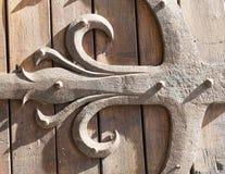 Albi, Palais de la Berbie, door. Albi (Tarn, Midi-Pyrenees, France) - Door of the gothic Palais de la Berbie, detail Stock Images