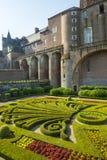 Albi, Palais de la Berbie, garden Stock Photography