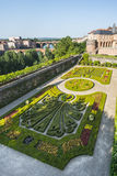 Albi, Palais de la Berbie, garden Stock Photos