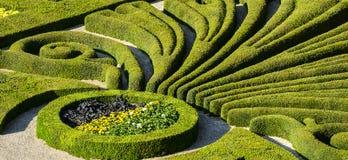 Albi, Palais de la Berbie, garden Royalty Free Stock Photos