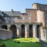 Albi, Palais de la Berbie, garden Stock Images