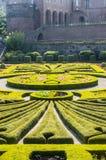 Albi, Palais de la Berbie, garden Royalty Free Stock Image