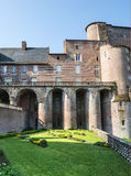 Albi, Palais de la Berbie, garden Royalty Free Stock Images