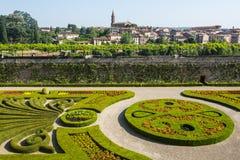 Albi, Palais de la Berbie, garden Stock Image