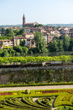 Albi, Palais de la Berbie, garden Royalty Free Stock Photography