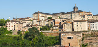 Albi, panoramic view Royalty Free Stock Photo