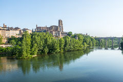 Albi, panoramic view Stock Photography
