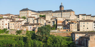 Albi, panoramic view Stock Photos