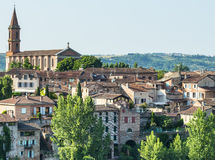 Albi, panoramic view Stock Images