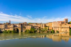 Albi in Southwestern France royalty free stock image