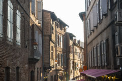 Albi, typical old street Stock Photo