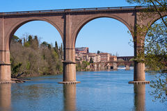 Albi. View of the city of Albi in France Royalty Free Stock Photography