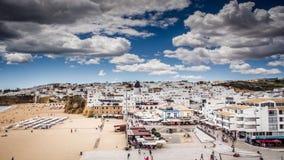 Albifeira Oude Stad Portugal Royalty-vrije Stock Foto