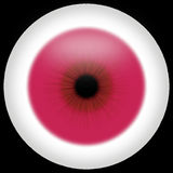 Albino-Auge lizenzfreie stockfotografie