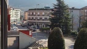 Albino Bergamo, Italien Fasaden av stadshuset av staden lager videofilmer