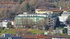 Albino, Bergamo, Italy. The retirement home for the elderly royalty free stock photography