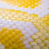 Albino phyton skin Royalty Free Stock Images