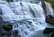 Albion Falls. Cascades in the fall at Albion Falls, Hamilton, ON Stock Images