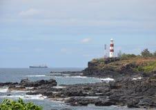 Albion lighthouse. Lighthouse near Albion town, Mauritius Royalty Free Stock Photos