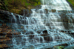 Albion water fall Royalty Free Stock Images