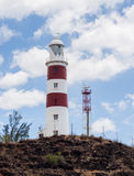 Albions-Leuchtturm lizenzfreie stockfotos