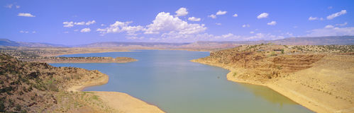 Albiquiu Reservoir, Royalty Free Stock Photography